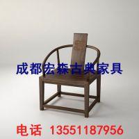 重庆新中式书桌电脑桌椅组合家具实木办公桌书房写字台禅意家具定制