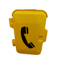 地下管廊专用IP电话机,防水抗噪扩音电话 隧道用广播对讲电话