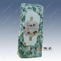 千火陶瓷 2018年新款假山陶瓷艺术品摆件厂家批发