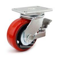 大世脚轮 稳固带刹车脚轮 可调节万向刹车轮 耐磨耗