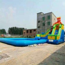充气水池游泳池大型水上游乐设备海洋球池支架水池移动户外水池