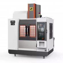 南京加工中心 850 三轴硬轨 三菱80系统 24T机械手刀库