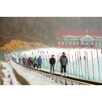 承载量大的滑雪魔毯诺泰克厂家供应雪场运输带