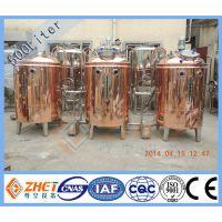 ZH-200L紫铜精酿啤酒自酿设备