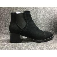 品牌女鞋厂家直销2017热销女靴款中筒矮跟女靴女鞋厂家货源