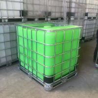 浙江供应1000L绿色消防桶 IBC集装化工桶