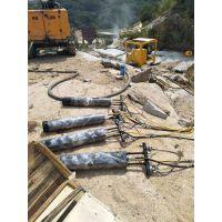 梧州液压多功能岩石石头分裂机
