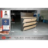 合肥华为3.0不锈钢灯箱展示柜指定订购厂家