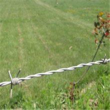 防护刺绳 刺绳网 包塑铁线
