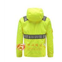 反光救援服套装 反光雨衣 防寒服 智能发热工作服 环诚制衣