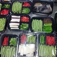 美康550型快餐食品盒式真空包装机 冷鲜肉气调真空包装机