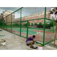 球场围网 体育场地护栏网 铁链套笼式足球场围网 篮球场高栏运动型围网栏