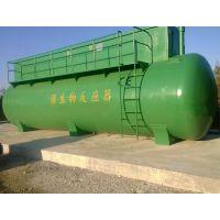 乡镇村环境治理污水处理环保设备 圆形罐状碳钢防腐地埋一体化
