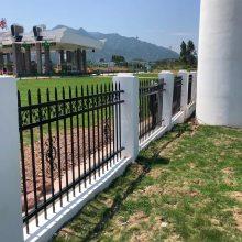 小区围墙栅栏常用款式 铁艺护栏规格 广州围墙栏杆定制厂