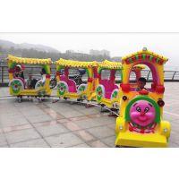 大象火车适合在广场上经营的儿童游乐设备