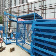 建筑爬梯箱式封闭安全爬梯通达厂家质量排名靠前