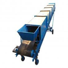 酒水饮料带式运输机 好口碑皮带输送机 家用装卸运输设备