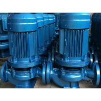 单吸立式管道泵 FLG100-250I 55KW 河南顺河区众度泵业 铸铁