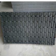 【水处理材料】新菱方形横流式填料散热片 PVC淋水片 485*1020 【河北华强】