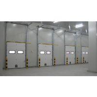 丽江提升门制作 建承分节式提升门安装 云南工业门厂家