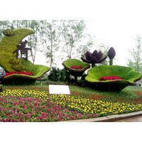 景心园艺城市绿雕扮靓城市