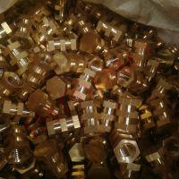 开槽大铜螺母 两槽不通孔铜螺母