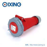 厂家直销 QIXING启星QX544 4芯 16A IP67 高端型工业连接器