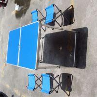 招工桌便携折叠桌一桌四椅子款式可选价格面议可印LOGO