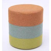 实木彩色时尚创意小圆凳 迷你家用换鞋凳