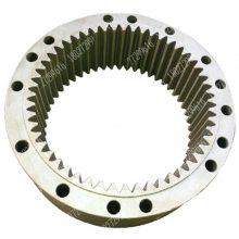 龙工LG200挖掘机回转减速机内齿圈配件18027299616 龙工200旋转牙箱内齿圈配件