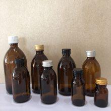 江苏林都现货供应100毫升棕色玻璃药瓶