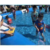 充气儿童玩水充气水池价格 游泳池生产加工工厂 武汉充气水池大型生产厂家