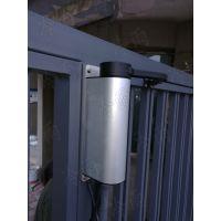 安装广州铁艺开门机 人行通道门自动开门器电机 冷雨LEY700HD快速金属大门门禁联动闭门器