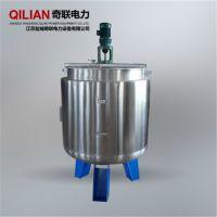 卧式搅拌罐,不锈钢材质,冶金电力等行业需要,江苏奇联