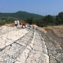 格宾石笼网 钢丝石笼网 格宾网挡土墙