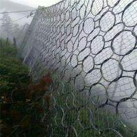 安平博皇 SNS柔性防护网 GPS1山体坠落滚石钢丝绳防护网