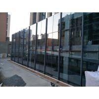 呼市点式幕墙|萨拉旗幕墙网架|玻璃雨棚|内蒙远拓幕墙公司