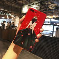 OPPOR9S手机壳女款潮A51硅胶手机套R11软壳防摔R7SP全包红色A59