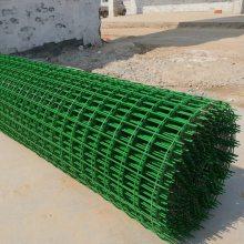 湘乡1.8×30米长成卷浸塑荷兰网-3mm丝圈地铁丝网优惠价-6cm孔散养鸡铁丝网