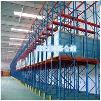 重力式货架济南德嘉生产批发各种中型轻型仓储货架