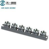 工厂直销TOP1小型手动卡盘,螺丝锁紧电极,CNC机床用精密夹具