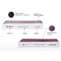 PM2.5防雾霾高效活性炭空调滤清器滤芯过滤网代工OEM