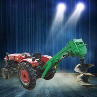 佳鑫植树钻眼机 汽油手提式挖坑机厂家 新款拖拉机打洞机