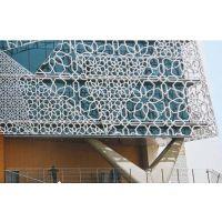 电影院门头镂空造型铝单板生产厂家