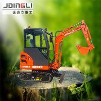 挖山药 挖花生,可以挖各种作物的小型挖掘机 金鼎立迷你钩机