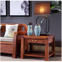 梨歌刺猬紫檀新中式家具红木沙发6件套报价