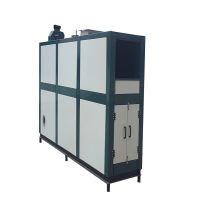 祈雅典生物质热风炉是将燃烧、换热、除尘、循环风、排放等功能合为一体的热能设备。