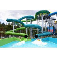 云南玻璃钢滑梯 水上乐园设备 螺旋滑梯 人工造浪设备 水上滑梯厂家