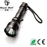 供应厂家直销 led充电手电筒 户外照明防身车载强光手电筒