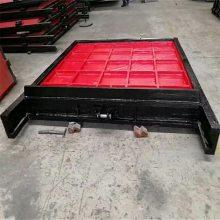 供应优质PGZ平面拱形铸铁镶铜闸门500*500mm止水效果